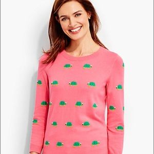 NWT Talbots Coral Sweater